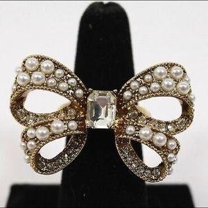 Betsey Johnson Bow Ring